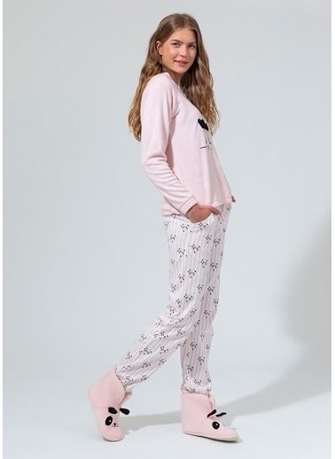 Dagi Pijama Takım Pudra